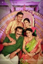 jayaraj warrier daughter engagement photos 013