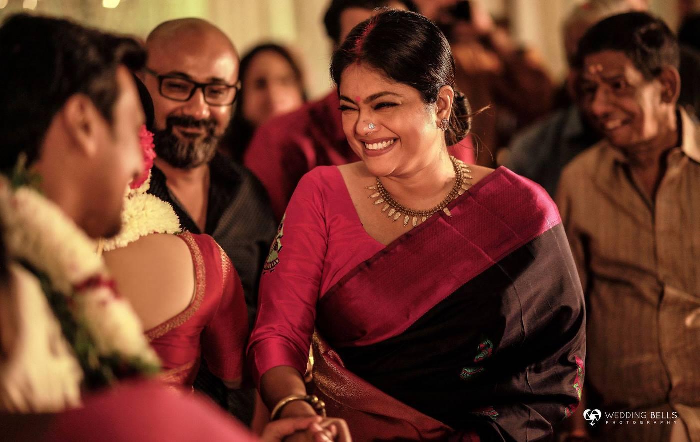 jayaraj warrier daughter marriage photos 2