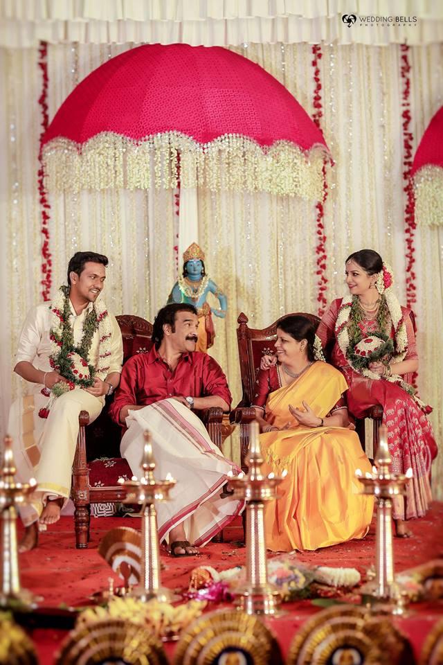 jayaraj warrier daughter marriage photos 22