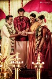 jayaraj warrier daughter indulekha wedding photos