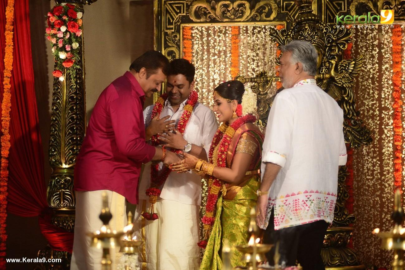 suresh gopi at actress jyothi krishna marriage  photos 126 004