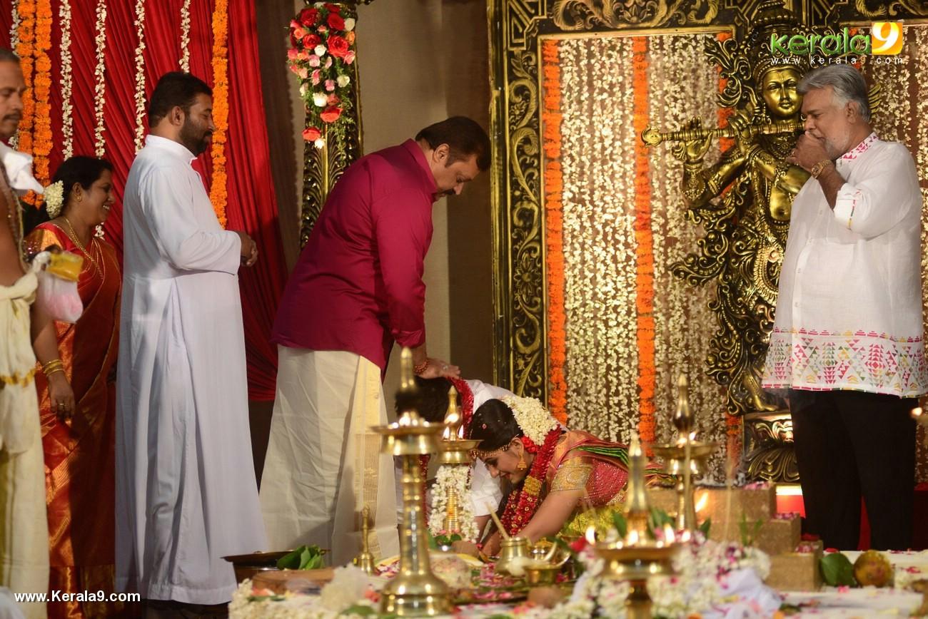 suresh gopi at actress jyothi krishna marriage  photos 126 006