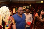 renji panicker at jyothi krishna wedding photos and marriage album photos 12