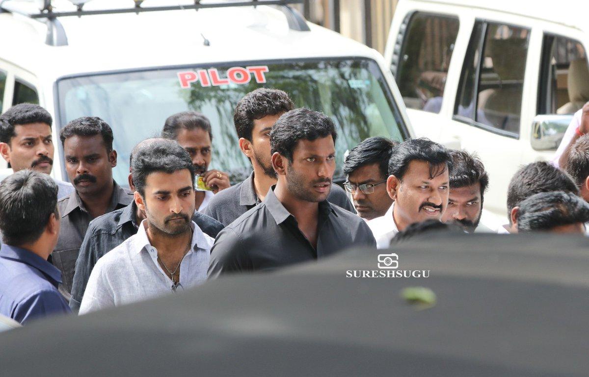celebrities at karunanidhi funeral photos 03864 1