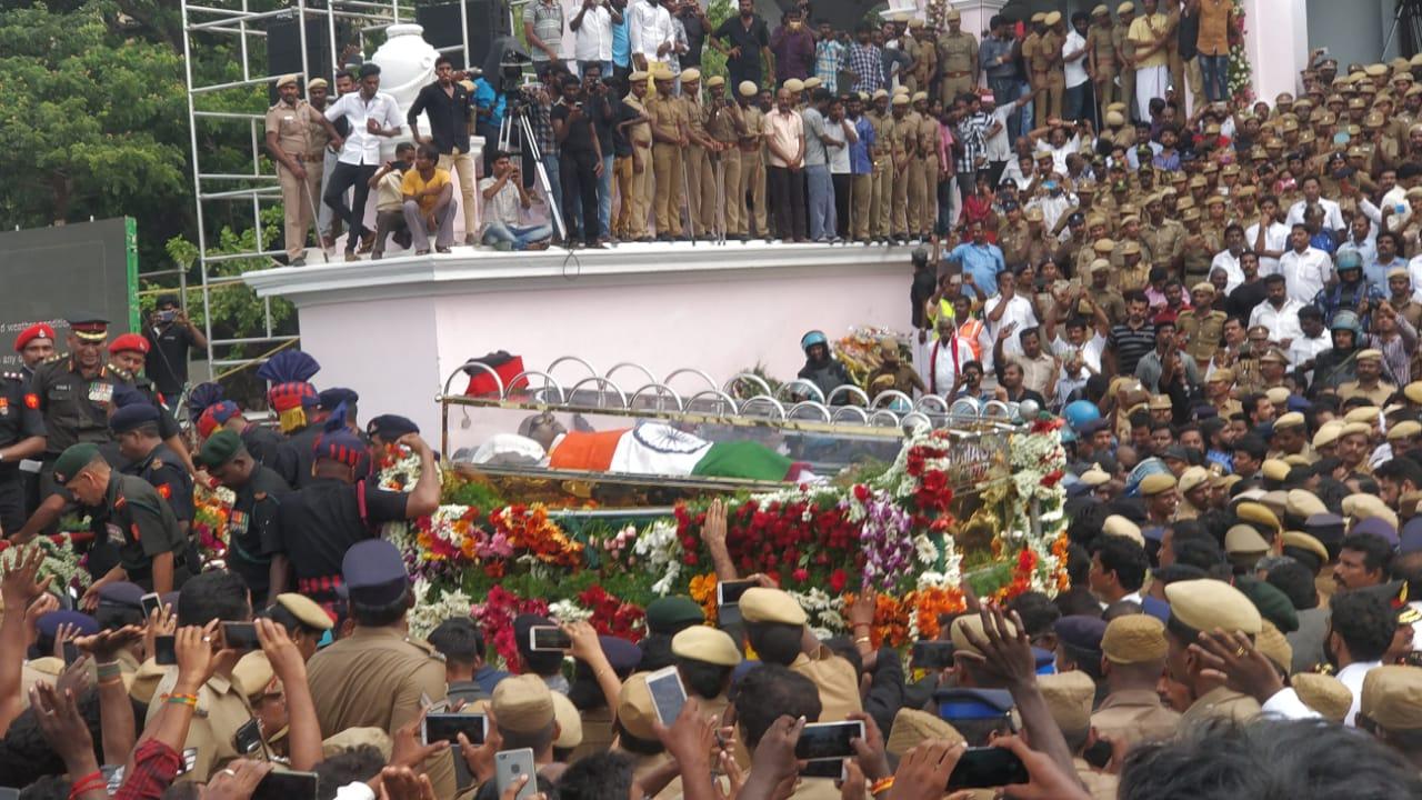 karunanidhi funeral photos 03864 5