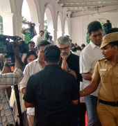 actor ajith at karunanidhi funeral photos 0823 2