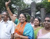 thiruvananthapuram corporation election 2015 winners pictures02 00