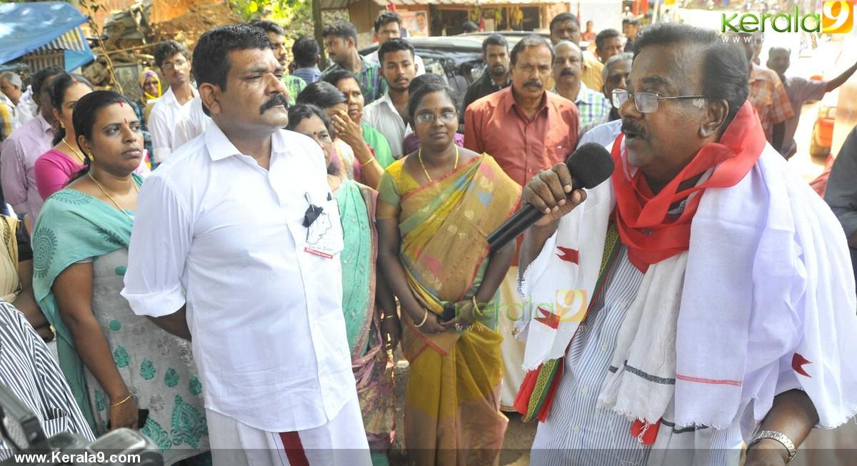 c divakaran at ldf election campaign images 600
