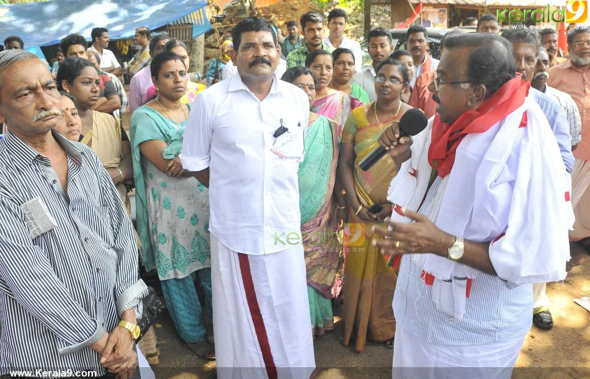 c divakaran at ldf election campaign photos 100 024