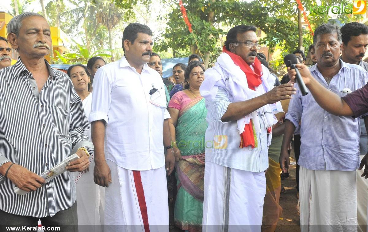 c divakaran at ldf election campaign stills 500 002