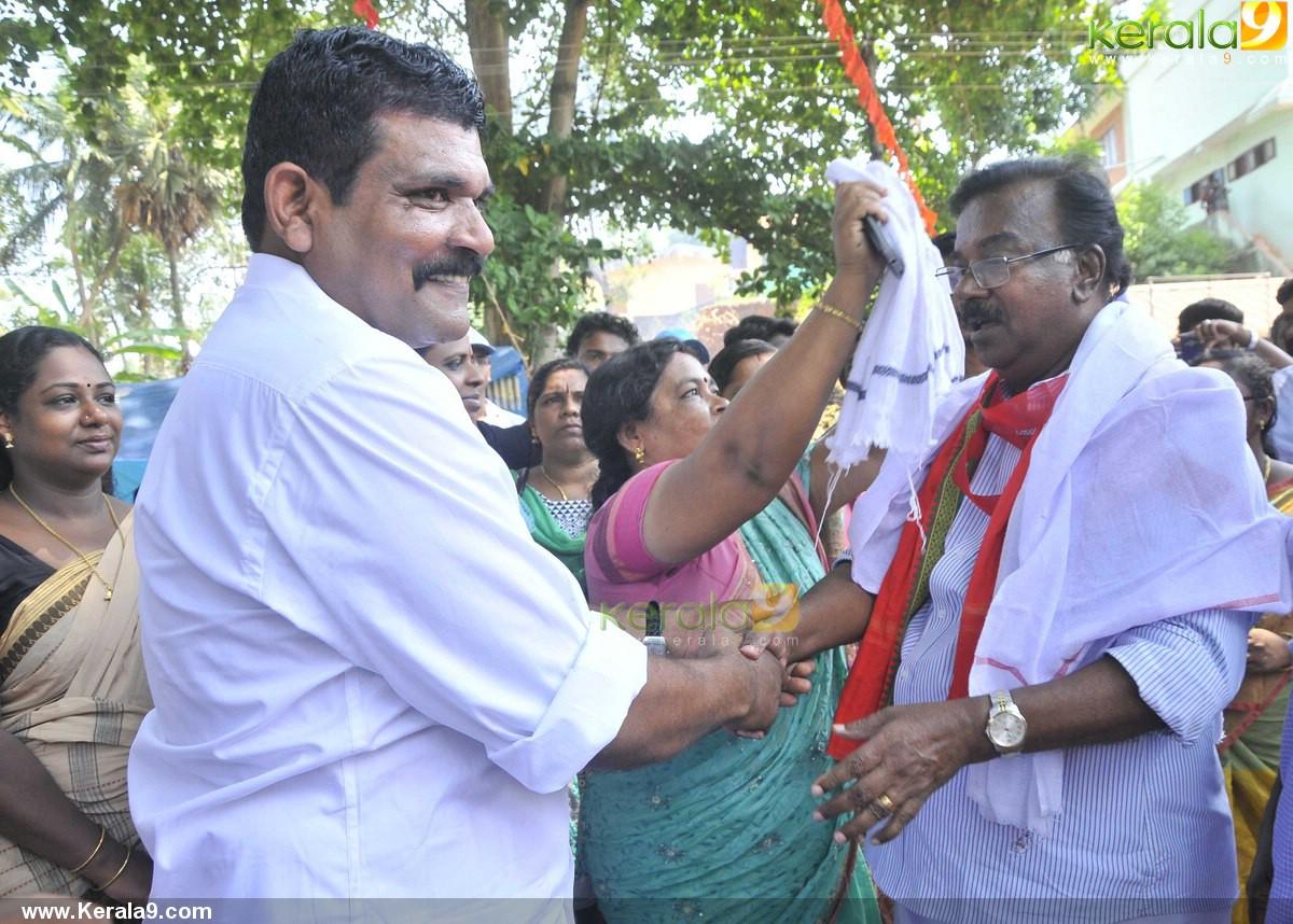 c divakaran at ldf election campaign stills 500