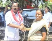 c divakaran at ldf election campaign photos 100 028