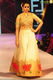 bhavana at kerala fashion league 2016 stills 603