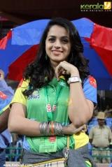 bhavana at ccl 2014 match photos