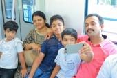 kochi metro rail first day journey stills 786 005