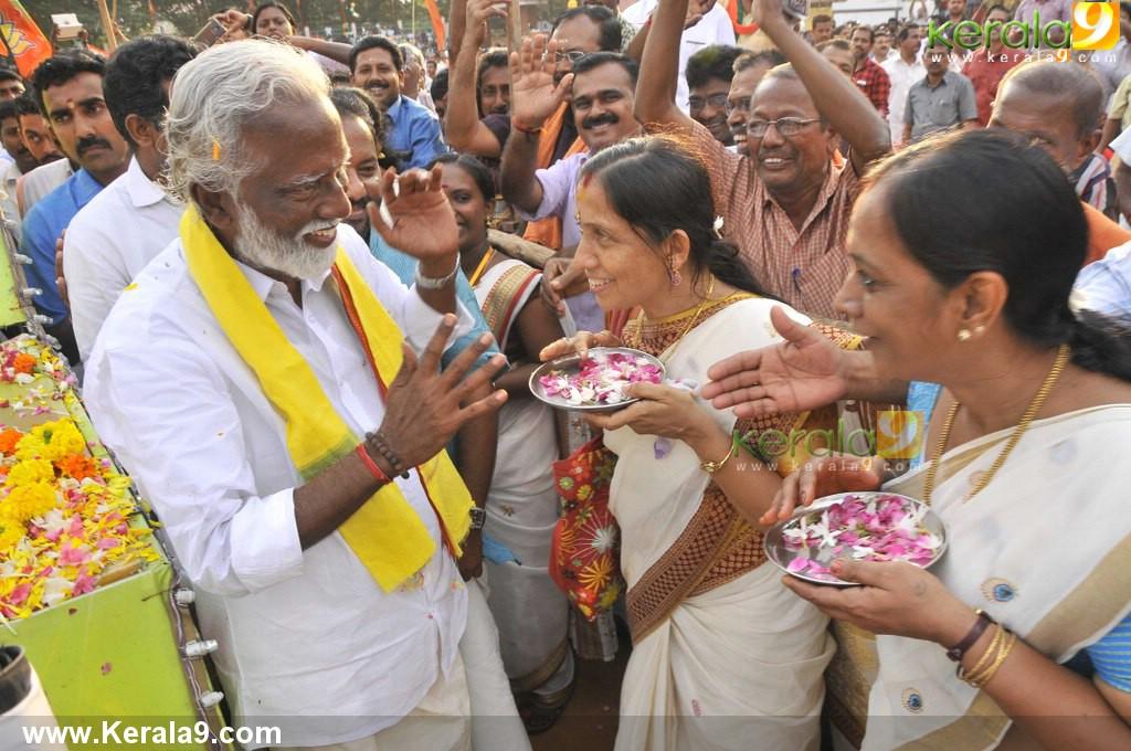 kummanam rajasekharan kerala vimochana yatra photos 120 007