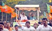 kummanam rajasekharan kerala vimochana yatra photos 120