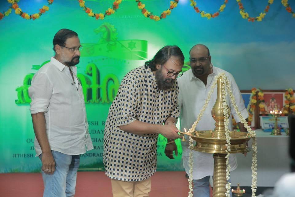 madhupal at kuthirappavan malayalam movie pooja photos 110 004