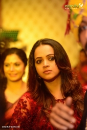 bhavana at lal daughter monica engagement pictures 44