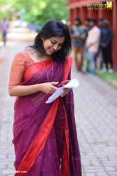 anna reshma rajan at lal jose mohanlal new movie pooja stills 960 013