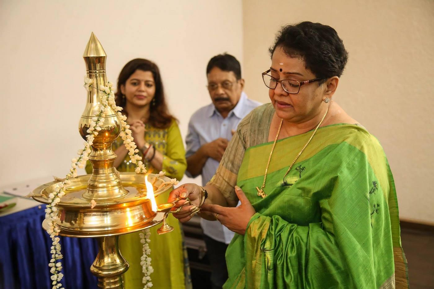 lucifer malayalam movie pooja photos  4