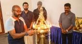 lucifer malayalam movie pooja photos
