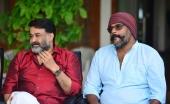 mohanlal at lucifer malayalam movie press meet photos 144 00