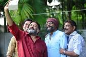 mohanlal at lucifer malayalam movie press meet photos 144 007