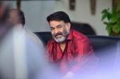 mohanlal at lucifer malayalam movie press meet photos 14