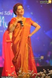 madhuri dixit at mahalekshmi silks saptha mukhi mega fashion show 2016 stills 169 009