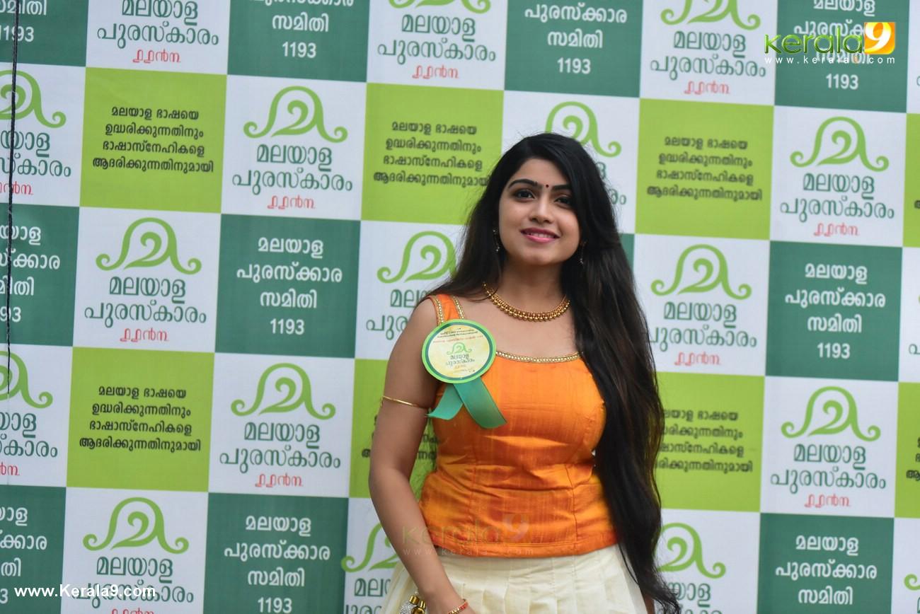 manasa radhakrishnan at malayala puraskaram 2017 photos