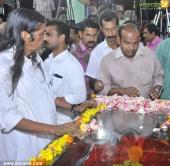 malayalam poet onv kurup funeral photos 159 00