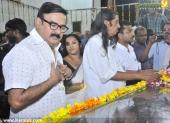 maniyanpilla raju at poet lyricist onv kurup funeral pictures 501