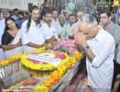 panyan raveendran at malayalam poet and lyricist onv kurup funeral pics 101 001