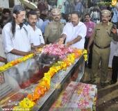 panyan raveendran at malayalam poet and lyricist onv kurup funeral pics 101 003