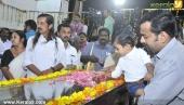 panyan raveendran at malayalam poet and lyricist onv kurup funeral pics 101