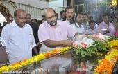 poet lyricist onv kurup funeral pictures 500