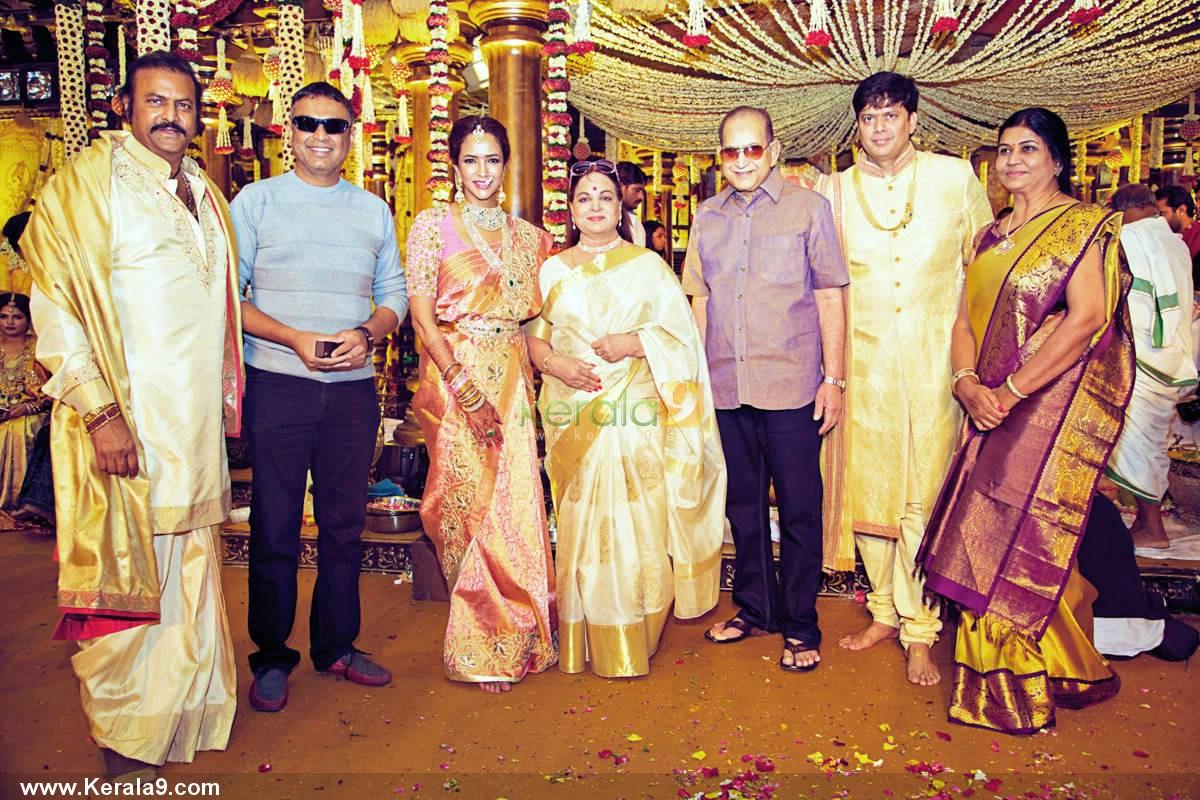 Manchu manoj family photos