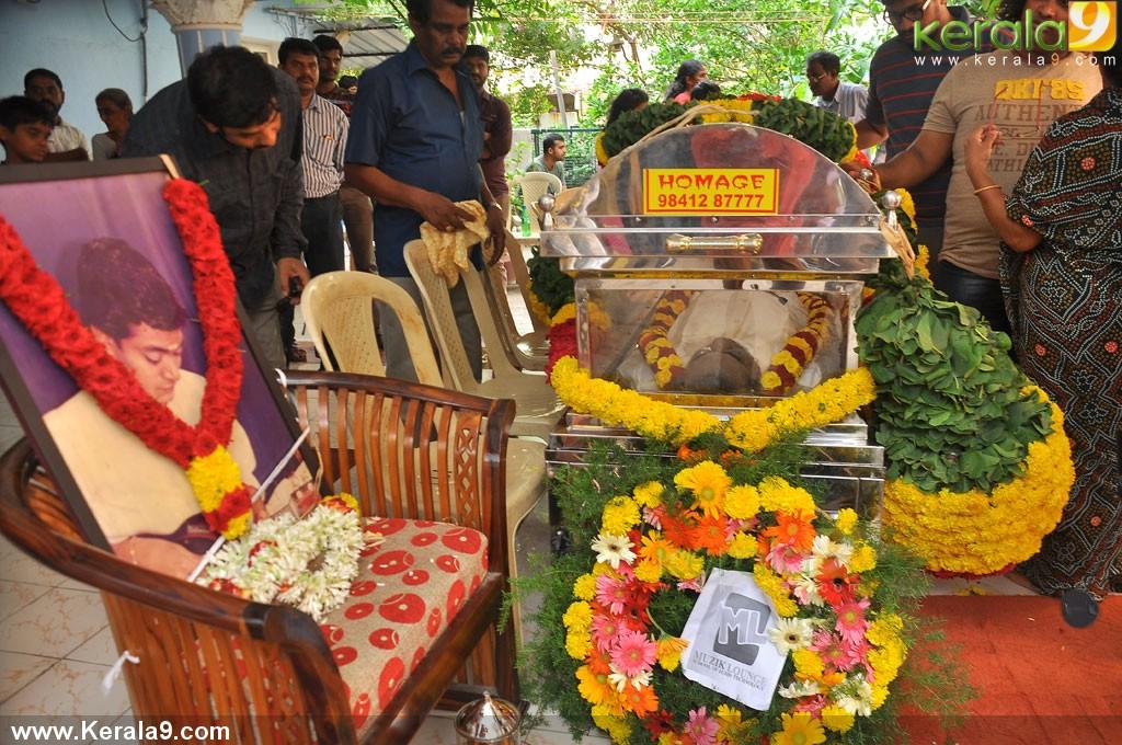mandolin u srinivas funeral photos 00784 kerala9com