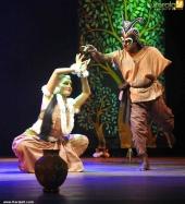 manju warrier at abhijnana shakuntalam drama photos 110 007