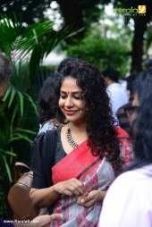 manju warrier indrajith movie mohanlal pooja photos  09