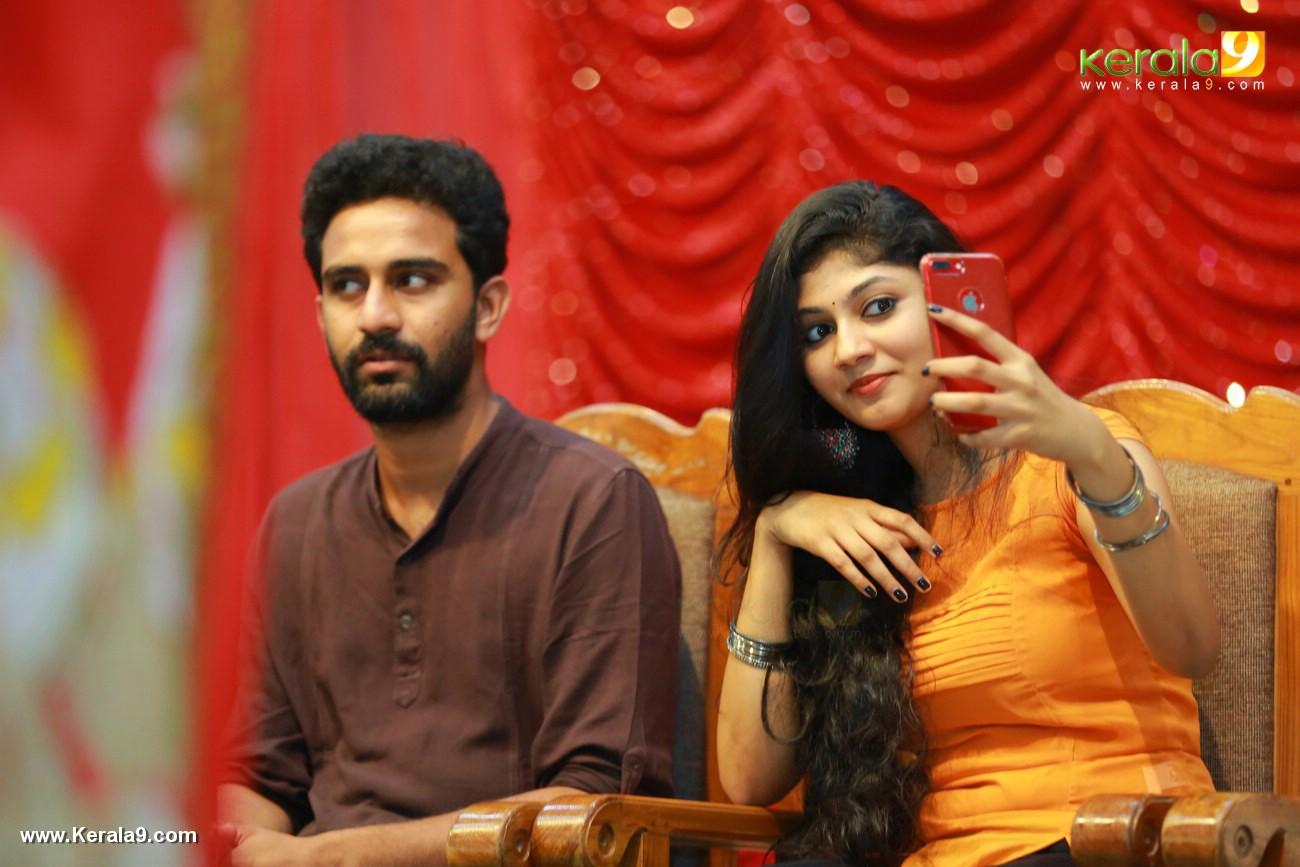 drishya raghunath at match box movie promotion at thiruvananthapuram photos 119 001