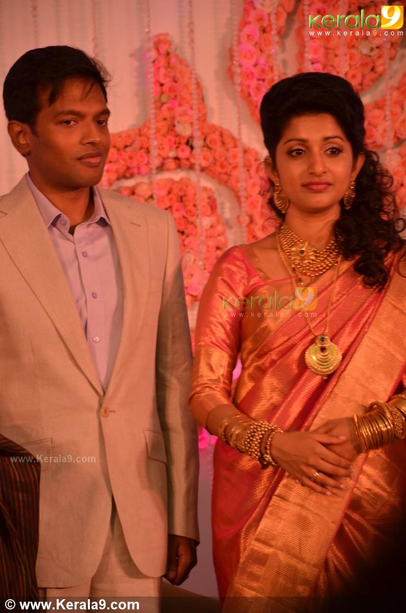 Meera Jasmine Marriage Reception