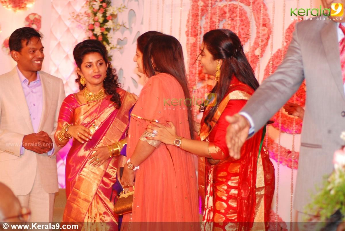 Actress Meera Wedding Meera Jasmine Wedding Reception Photos Meera