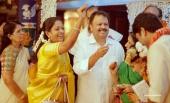 keerthi suresh sister wedding photos 092 023