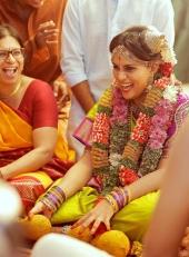 keerthi suresh sister wedding photos 092 039
