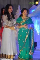 dubbing artist raveena ravi at mithra kurian engagement photos 156