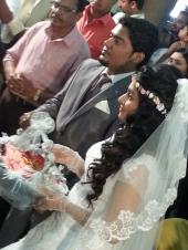 actress mithra kurian marriage photos