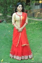 sruthi lakshmi at mizhi thurakku malayalam movie pooja photos