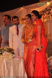 namitha pramod at muktha reception photos 15